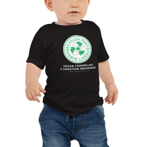 Recycled Parts Save Lives Baby t-shirt