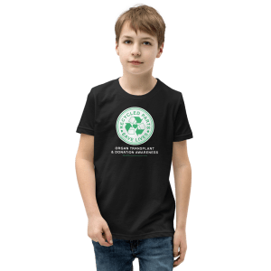 Recycled Parts Save Lives Youth T-Shirt Organ Donation Youth Tshirt