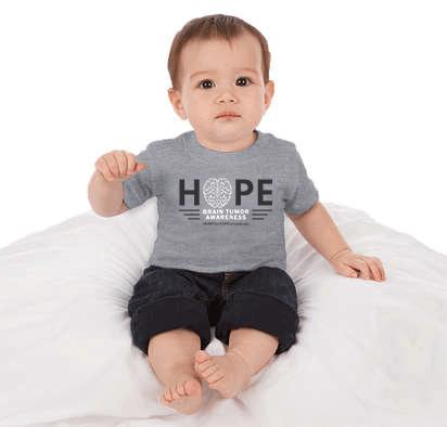 Brain Tumor Awareness Month Baby Shirt