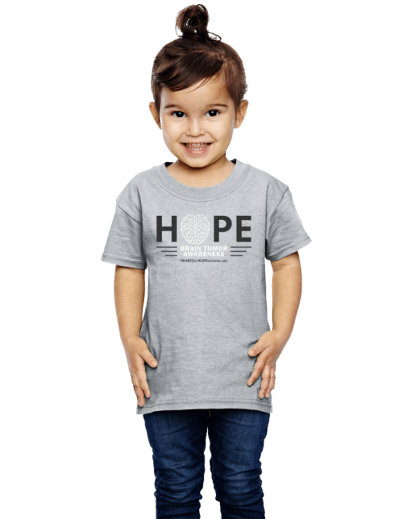 Toddler Brain Tumor Awareness Shirt