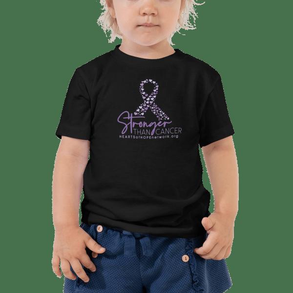 Stronger Than Cancer Toddler Shirt