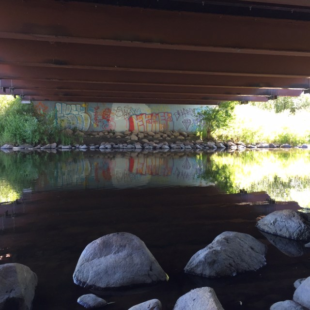 Graffit under the bridge | HeartStories