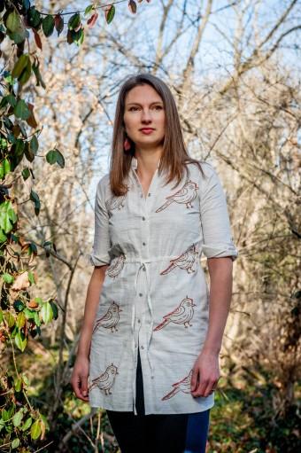 Liz Alig Recycled Tunic | HeartStories