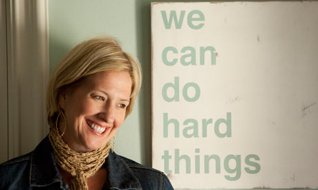 Brene Brown because she didn't quit, Heartstories ~ Crystal Gornto