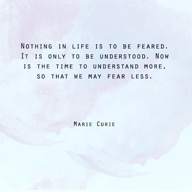 Now is the time to understand Marie Curie Quote - HeartStories