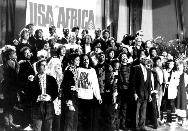 USA for Africa, We Are The World