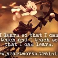 I Learn So I Can Teach