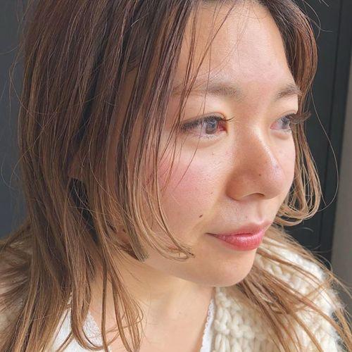 ..kasumiさんのまつげJカールのmocha brown 🦔.沢山つけても派手になりすぎない大人可愛いスタイル.Eyelist ( @__ememr ).#HEARTY #eyelash#Jカール #mochabrown
