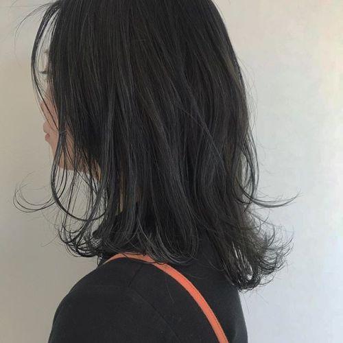 hair ... TOMMY ︎bule × green × gray mix !!! ♡暗さの中の透明感 🕊🕊🕊 @hearty_tommy #tommy_hair #hearty #abond#heartyabond#高崎#高崎美容室