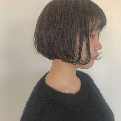 hair ... TOMMY ︎pure bob 🕊bobがとってもお似合いでした♡@hearty_tommy #tommy_hair #hearty #hearty abond#abond#高崎#高崎美容室