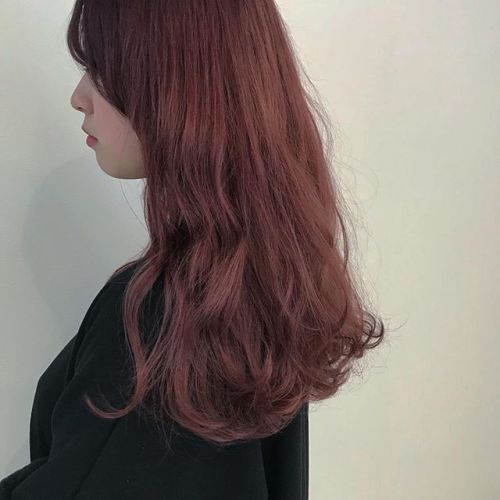 hair ... TOMMY ︎初カラーのお客様♡red × pink HEARTYラスト勤務♡ぜひご予約お待ちしてます!! @abond_tommy #tommy_hair #hearty#heartyabond#abond#高崎#高崎美容室
