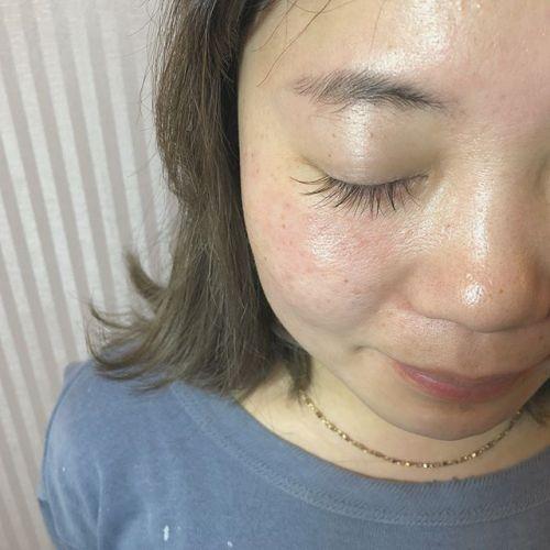 ..J カール 11.12.13mmmocha ×khaki mix 大人かわいいdesign.eyelist (@__ememr ).#HEARTY #eyelash