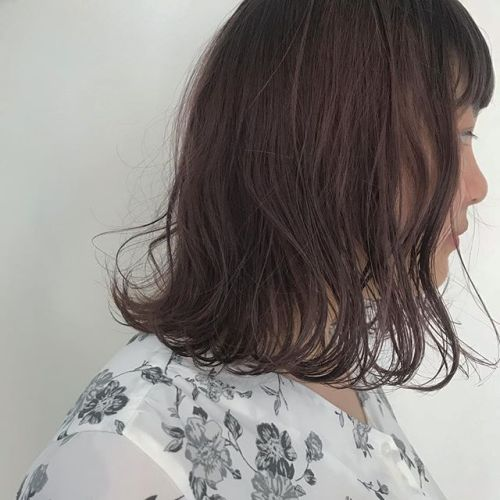 hair ... TOMMY ︎春らしいsmoky pink @hearty_tommy #tommy_hair #hearty #abond#heartyabond#高崎#高崎美容室