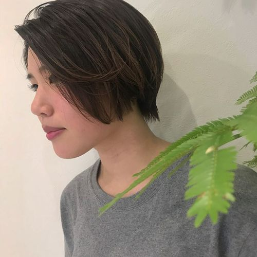 担当シオリ @shiori_tomii ハンサムショート♡#hearty#shiori_hair #ハンサムショート#高崎美容室