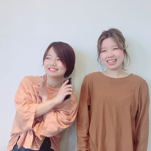 今日4/1〜から富井姉妹が店舗移動します!姉 @abond_tommy がabondへ妹 @shiori_tomii がHEARTYになります!ご予約さいはお間違えのないようお願い致します♡#abond#hearty#高崎美容室