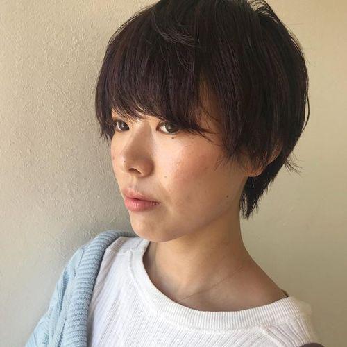 担当シオリ @shiori_tomii pink short hair#hearty#shiori_hair #ピンクブラウン #高崎美容室