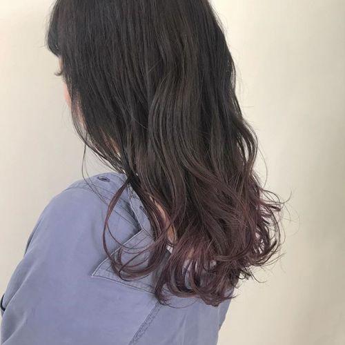 担当シオリ @shiori_tomii グレージュ〜ラベンダーのグラデーションcolor#hearty#shiori_hair #ラベンダー#パープル#グレージュ#グラデーション#高崎美容室