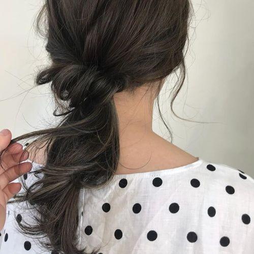 担当シオリ @shiori_tomii くすみカラーのムラムラハイライト〜アレンジした時のかわいさ◎今後アレンジの動画などアップしていこうと思っていますのでぜひ @shiori_tomii フォローお願いします♡#hearty#shiori_hair #くすみカラー#ハイライト#グレージュ#hairarrange#ヘアアレンジ#ヘアセット#高崎美容室