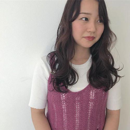 担当 @sugita.ryosuke 濃いめのラベンダーカラーいつもありがとう#高崎 #高崎美容室 #ラベンダー #カラー #ミディアム #レイヤー