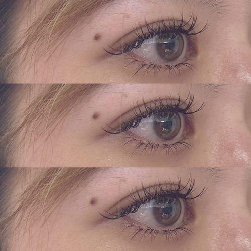 .HEARTY eyelash ♡.下まつげのエクステも人気です^^.1本 ¥108 ︎.片目10本ずつからでもお試し下さい♪.eyelist @__ememr .#HEARTY #eyelash