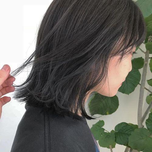 担当シオリ @shiori_tomii グレージュにトーンダウン🐋透明感◎◎#hearty#shiori_hair #グレージュ#bob#高崎美容室#高崎