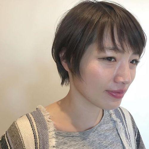 担当シオリ @shiori_tomii weddingが終わったあとにバッサリカットさせていただきました ショートヘアがお似合いです#hearty#shorthair #shiori_hair #ショートヘア#高崎美容室