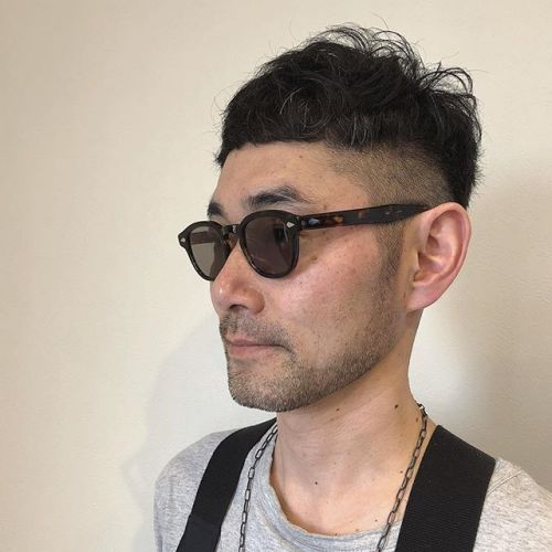 stylist: @hearty_miyahara セレクトショップsonarの栗原さん#hearty#men's#hair#vintage #sonar