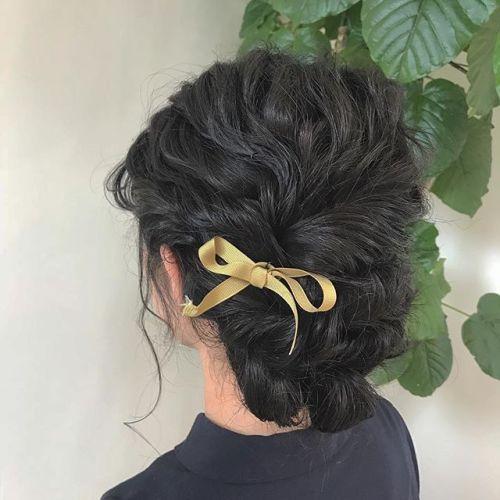 担当シオリ @shiori_tomii hair set#hearty#shiori_hair #hairarrange #ヘアアレンジ#ヘアセット#高崎美容室#高崎