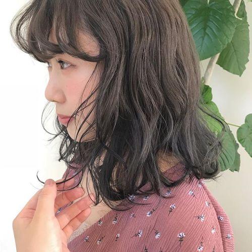 担当シオリ @shiori_tomii ラベンダーベージュ#hearty #shiori_hair #ラベンダーベージュ#ラベンダーグレージュ #高崎美容室#高崎#透明感カラー #BOB