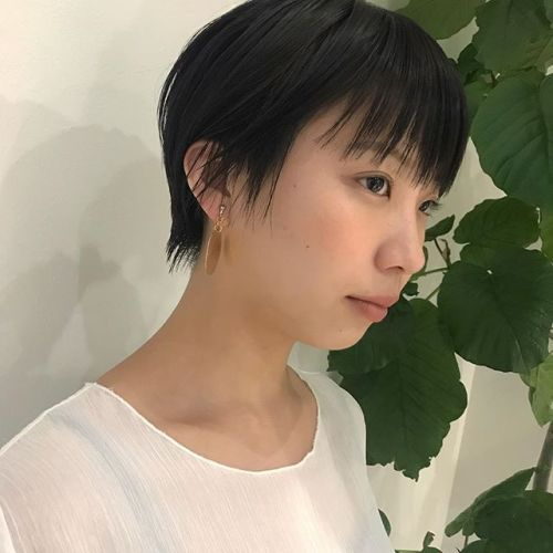 担当シオリ @shiori_tomii 大人short hair🥀#hearty #shiori_hair #shorthair #ショートヘア #大人ショート #高崎#高崎美容室