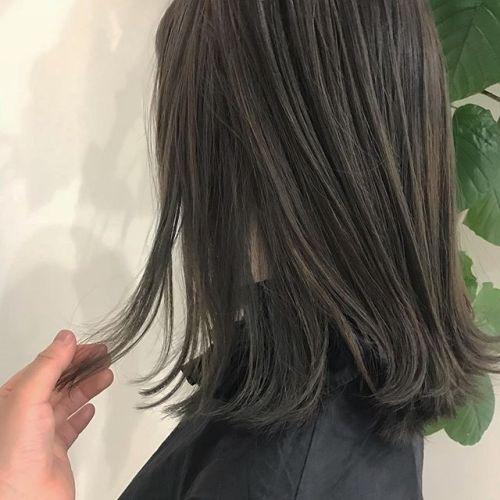 担当シオリ @shiori_tomii ブリーチをして色落ちを考慮したらラベンダーグレージュ 県外からありがとうございます♡#hearty#shiori_hair #ラベンダーグレージュ#グレージュ#ハイトーン#高崎美容室#高崎