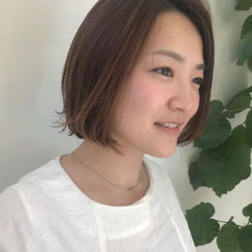 担当シオリ @shiori_tomii ばっさりBOBにする方増えてます♡ぜひお任せ下さい♡#hearty#shiori_hair #shorthair #bob#高崎美容室#高崎