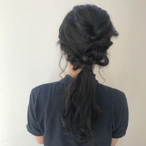 担当シオリ @shiori_tomii hair setは¥4000+taxです営業時間外も受け付けておりますのでその際にはお気軽にスタッフにご相談くださいね#hearty#shiori_hair #hairarrange #hairset#ヘアアレンジ#ヘアセット#高崎美容室#高崎