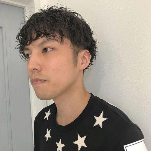 担当シオリ @shiori_tomii men's perm#hearty#shiori_hair #menshair #メンズパーマ#メンズショート#高崎美容室#高崎