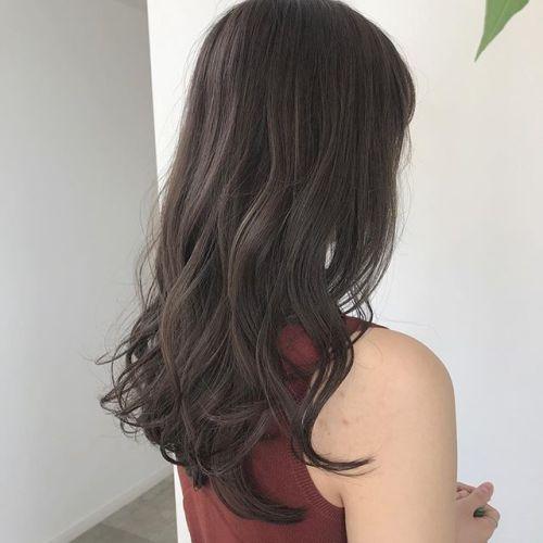 担当シオリ @shiori_tomii ナチュラルなアッシュベージュ#hearty#shiori_hair #アッシュベージュ#グレージュ#ベージュ#地毛風カラー#高崎美容室#高崎