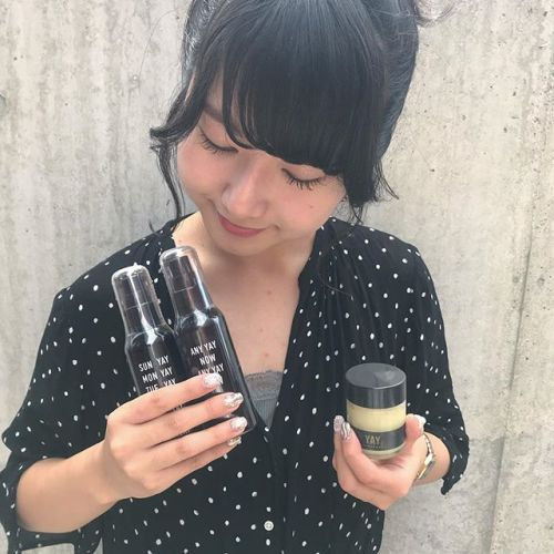 🥣new item「YAY」🥣 今話題のYAYのgel oil、youth oil followワックスが入荷しました!質感もよくおしゃれなYAY。おすすめです♡abondにも置いてあります♡#hearty#abond#yay#艶髪#高崎#高崎美容室