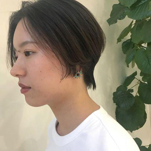担当シオリ @shiori_tomii ハンサムショート🦖#hearty#shiori_hair #ハンサムショート#ショートヘア#高崎美容室#高崎