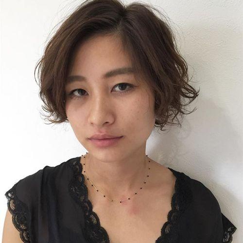 stylist:塚越外ハネ、内巻きのランダムパーマ︎ #hearty#パーマ#高崎#美容室#楽ちん