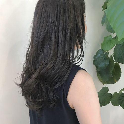 担当シオリ @shiori_tomii ダークグレージュでトーンダウン#hearty#shiori_hair #透明感カラー#ダークグレージュ #グレージュ#高崎美容室#高崎