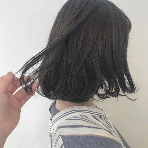 担当シオリ @shiori_tomii 大人気のグレージュ🦈🦈#hearty#shiori_hair #グレージュ#ベージュカラー #高崎美容室#高崎