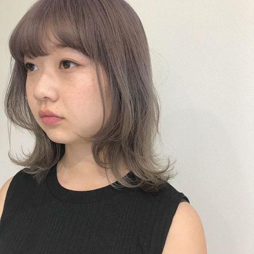 担当シオリ @shiori_tomii ホワイトラベンダーブリーチ2回は必須です!#hearty#shiori_hair #ホワイトラベンダー#高崎美容室#高崎