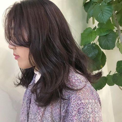 担当シオリ @shiori_tomii pink brown#hearty#shiori_hair #ピンクブラウン#高崎美容室#高崎