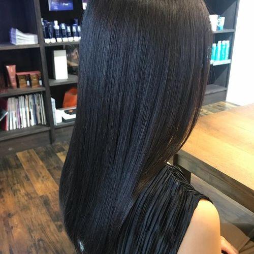 担当シオリ @shiori_tomii ロイヤルトリートメントくせ毛もこの通りサラッサラです♡ぜひ1度お試しください♡#hearty#shiori_hair #高崎美容室#高崎#艶髪文化 #艶髪 #ロイヤルトリートメント
