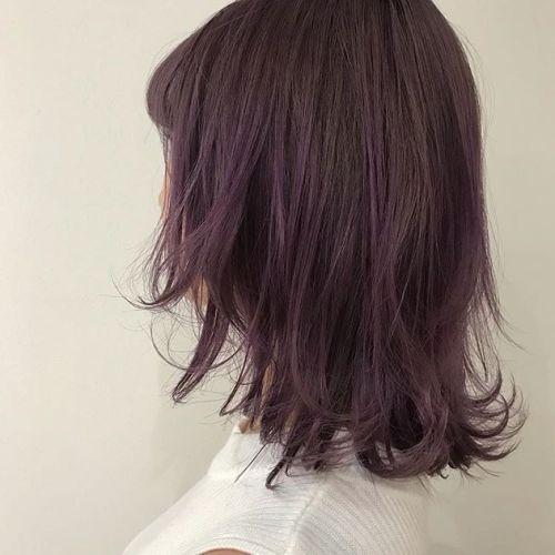 担当シオリ @shiori_tomii lavender pink#hearty#shiori_hair #ラベンダー#ピンクベージュ #カラーバター#高崎美容室#高崎