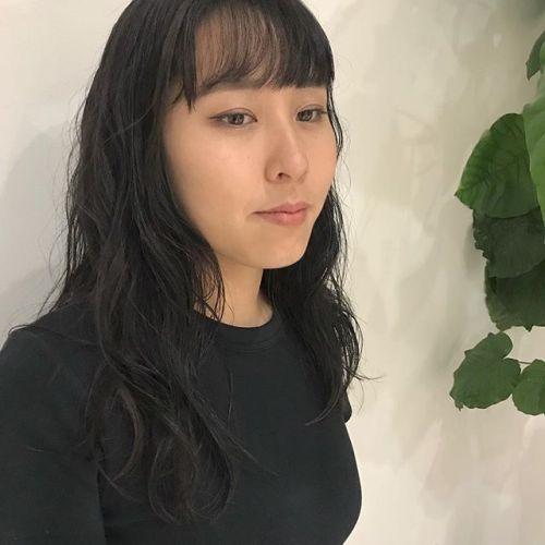 担当シオリ @shiori_tomii longにゆるゆるperm#hearty#shiori_hair #パーマ#パーマスタイル#高崎美容室#高崎
