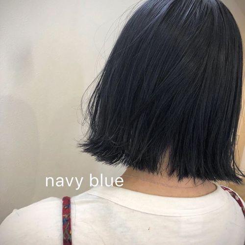 navy blue stylist 野上・・・・#HEARTY#abond#高崎#高崎美容室#群馬ブリーチカラー#ハイライト#ヘアカラー#ドライフラワーカラー#外国人風ヘア#外国人風カラー#外ハネ#ブルージュ#波ウェーブ#グレージュ#カーキグレージュ#アッシュグレージュ#ネイビーブルー#ネイビー