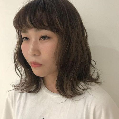 担当シオリ @shiori_tomii 前髪パーマで毎日のスタイリングを楽にしましょう前髪パーマは¥2500+taxです!(前髪パーマのみですとシャンプーブロー代がかかります)#hearty#shiori_hair #前髪パーマ#高崎美容室#高崎