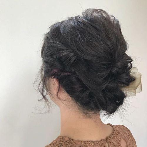 担当シオリ @shiori_tomii 早朝set前日にいれたポイントcolorをいかして楽しんできてください#hearty#shiori_hair #ヘアスタイル#ヘアカラー#ヘアアレンジ#ヘアセット#高崎美容室 #高崎