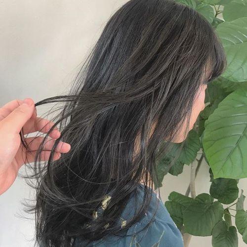 担当シオリ @shiori_tomii グレージュ祭りでした🦈#hearty#shiori_hair #グレージュ#透明感カラー#ヘアカラー#ヘアスタイル#高崎美容室#高崎