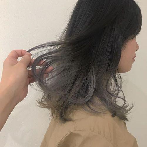 担当シオリ @shiori_tomii ホワイトアッシュのグラデーション🦈🦈#hearty#shiori_hair #ホワイトアッシュ#グラデーション#ハイトーン#ヘアスタイル#ヘアカラー#高崎美容室#高崎